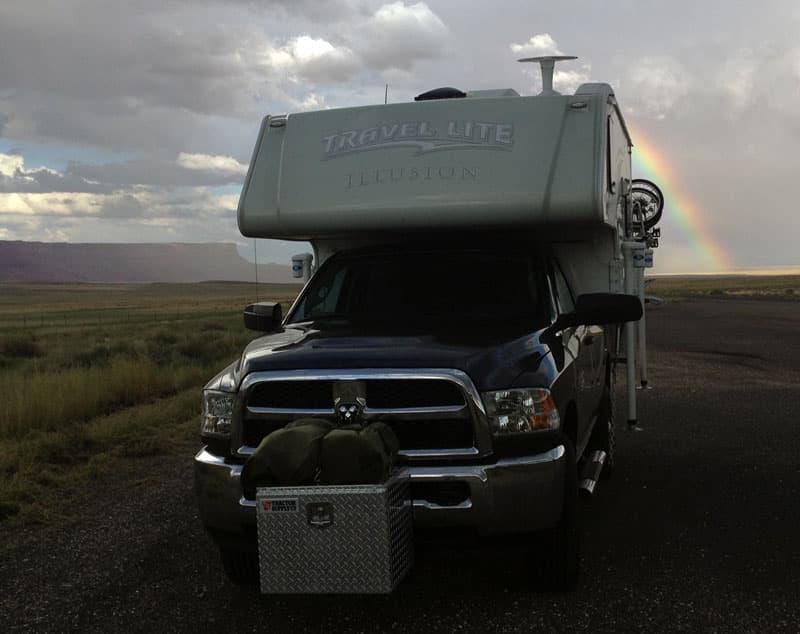 Rainbow Near Vermillion Cliffs National Monument