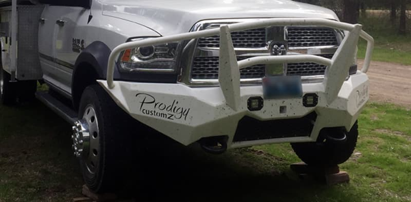Ram 5500 grille guard