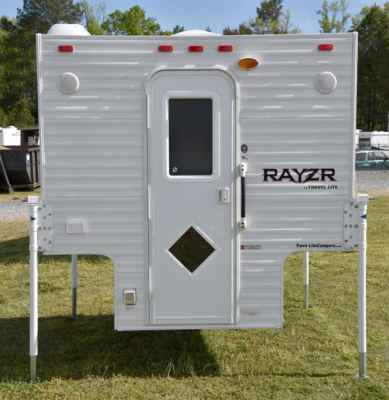 "The Rayzr FB camper is 7'2"" in width"