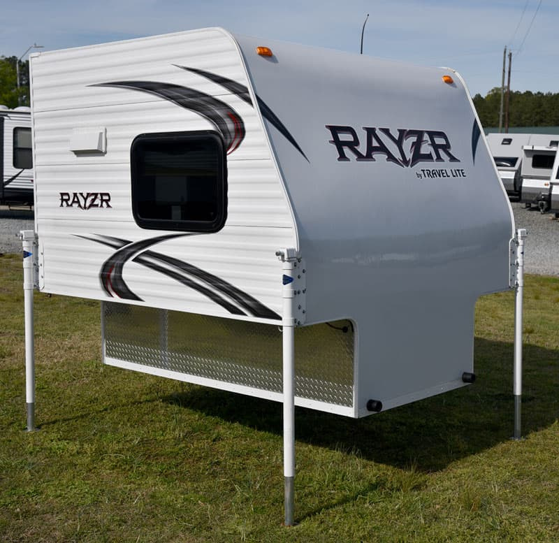 Rayzr FB truck camper for short or long bed trucks