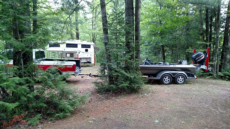Plattsburg, New York campground