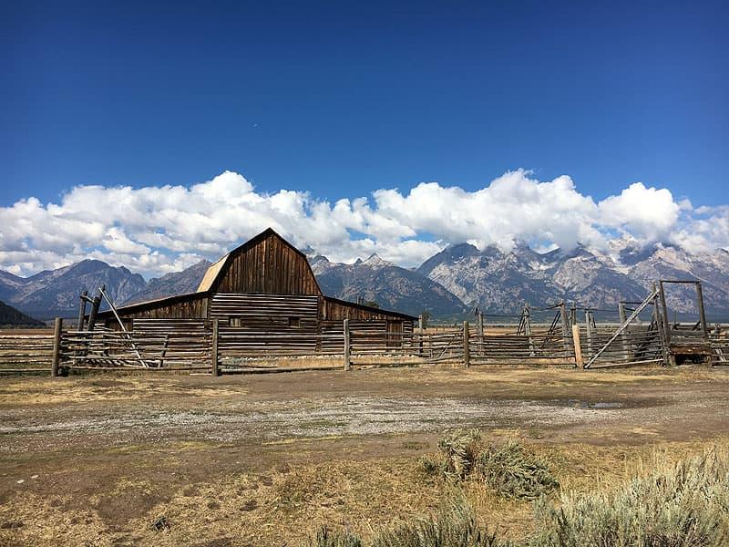 Teton National Park in Wyoming