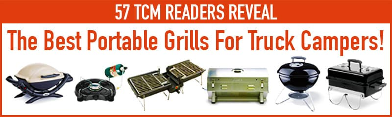 Best Portable Grills For RVs and Camping