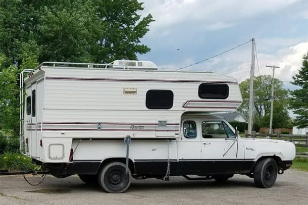1983 Real Lite Camper, owned by Jim Sargent