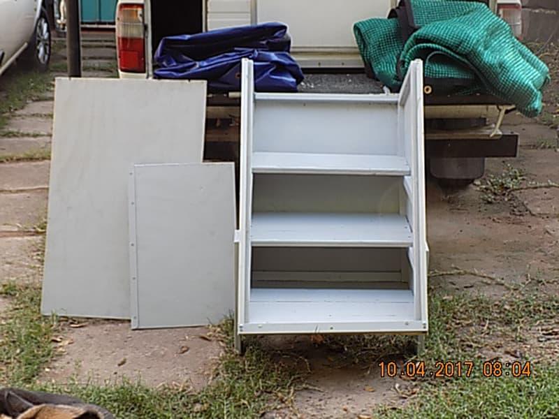Rear Storage Steps