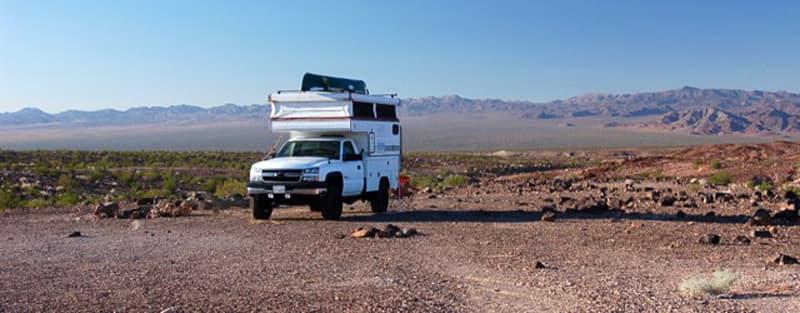 Remote Campsite Route 66 Way To Amboy CA