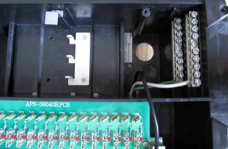 Repositioned Circuit Breaker