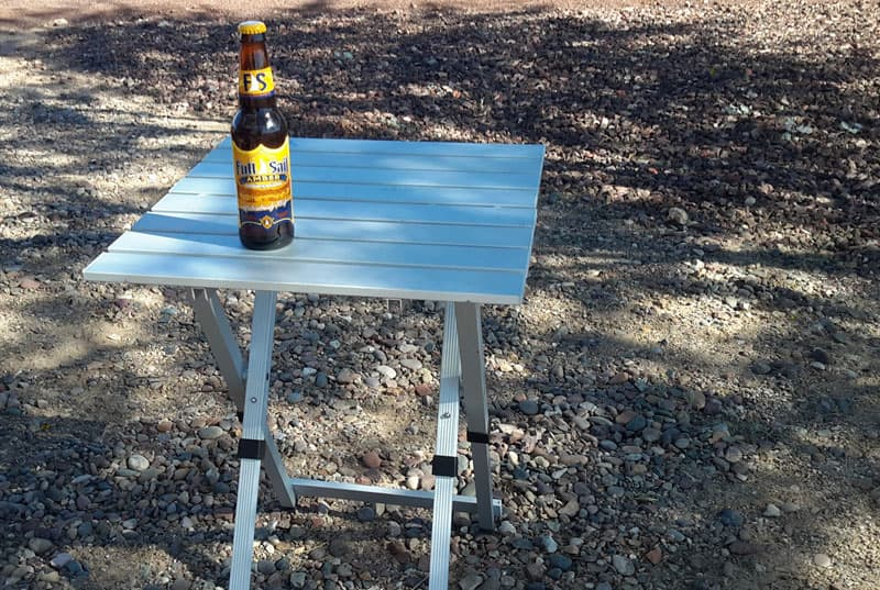Rio Adventure table for camping