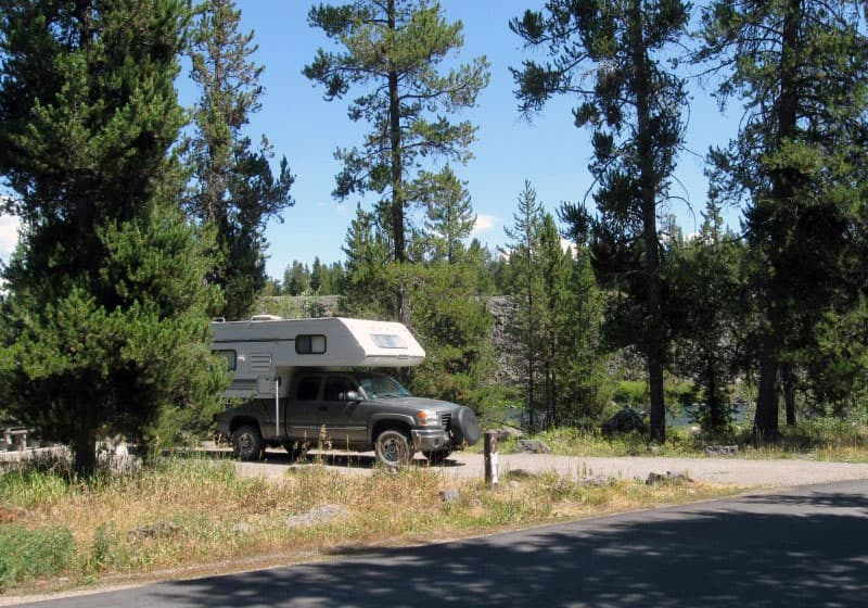 Riverside National Forest Campground, Idaho