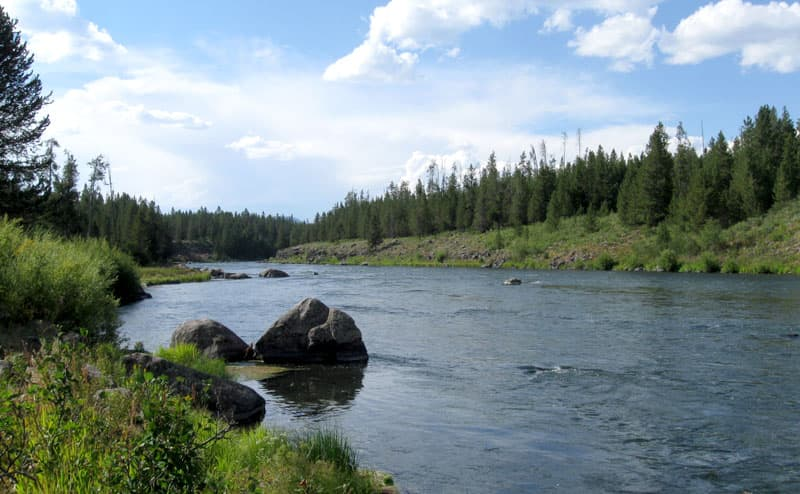 Riverside Forest Service Campground, Ashton, Idaho