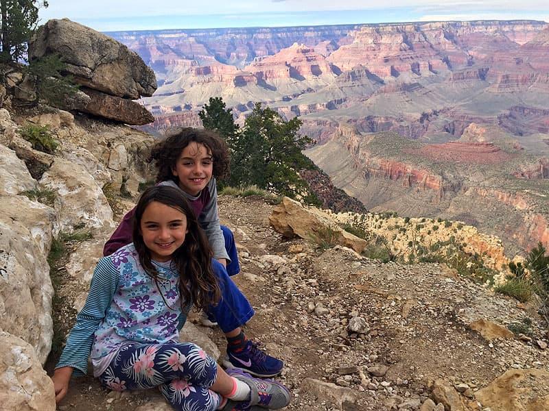 Road schooling at Grand Canyon National Park