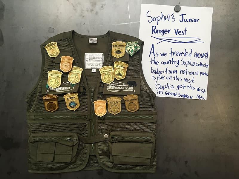 National Park Junior Ranger Vest