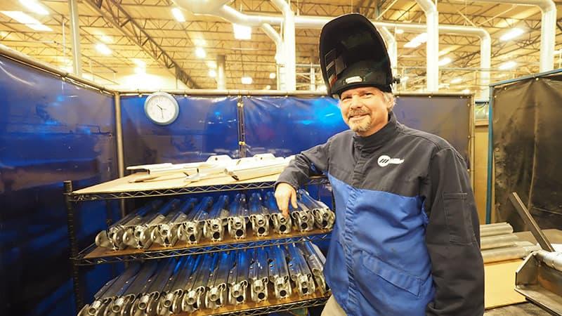 Alan Douglas, Aluminum TIG Welder at Roadmaster
