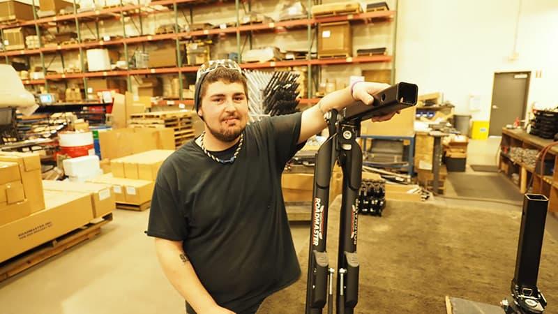 Jeff Fisk, Roadmaster Nighthawk Assembler