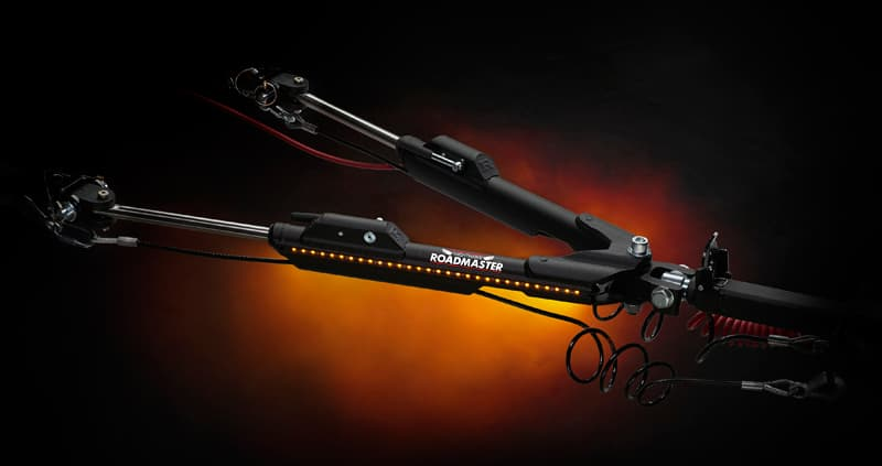 Roadmaster Nighthawk Tow Bar LED lights
