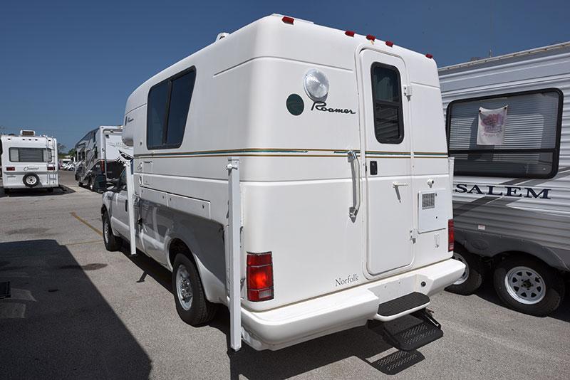 Roamer Camper Exterior Rear Three Quarter Driver