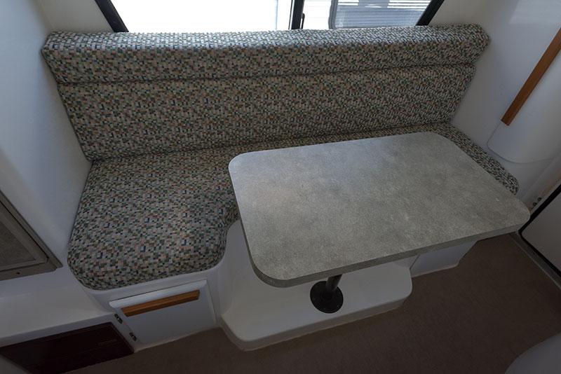 Roamer Camper Interior Dinette