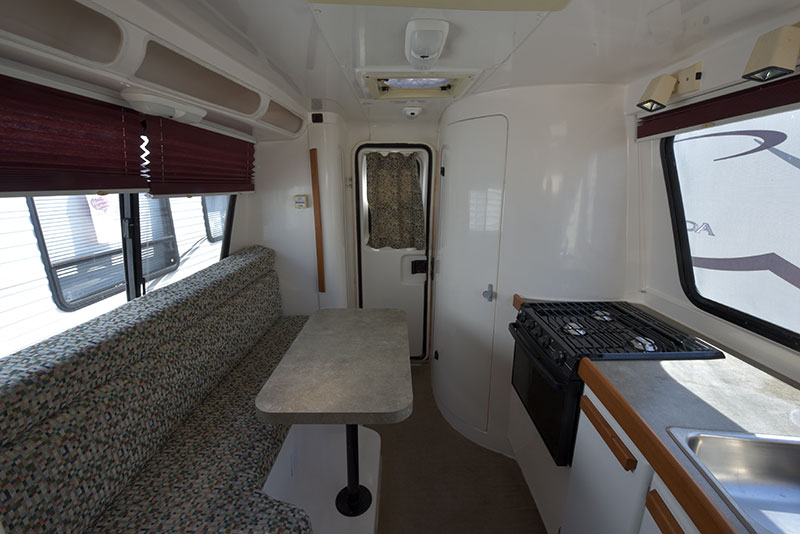 Roamer Camper Interior Rear Wide