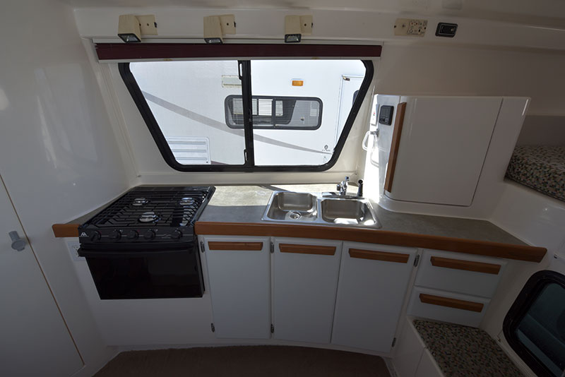 Roamer Truck Camper Kitchen
