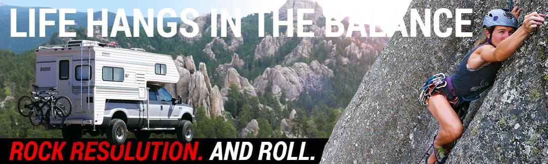 Rock Resolution Lance Camper