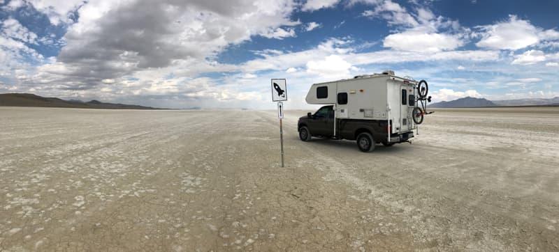Rocket Launch Area Near Burning Man Nevada