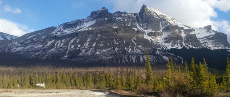 Rocky Mountain Range Canada