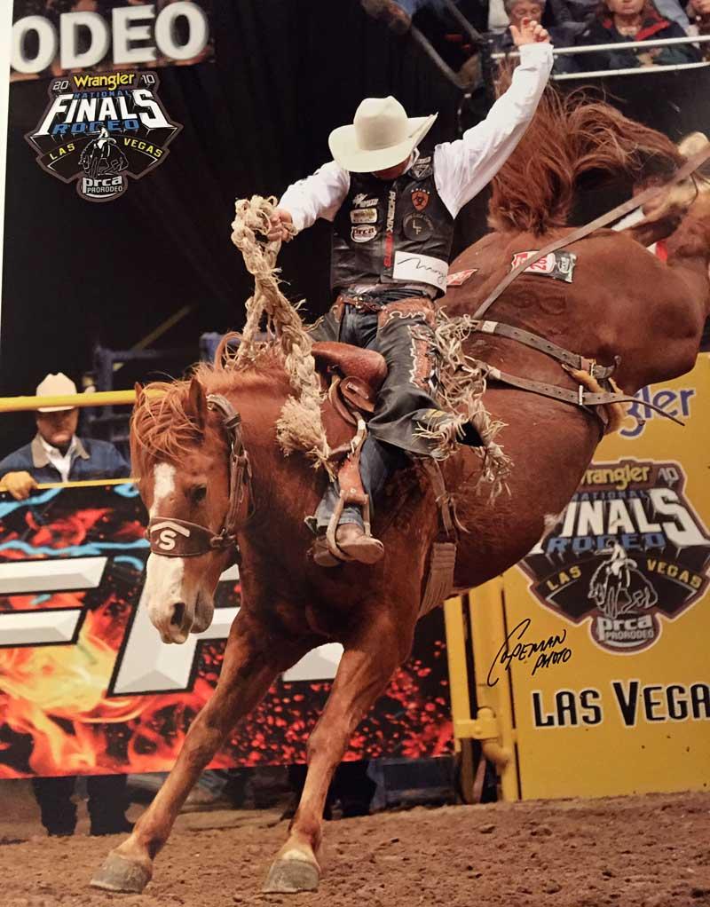 Rodeo 8 seconds, Bradley Harter