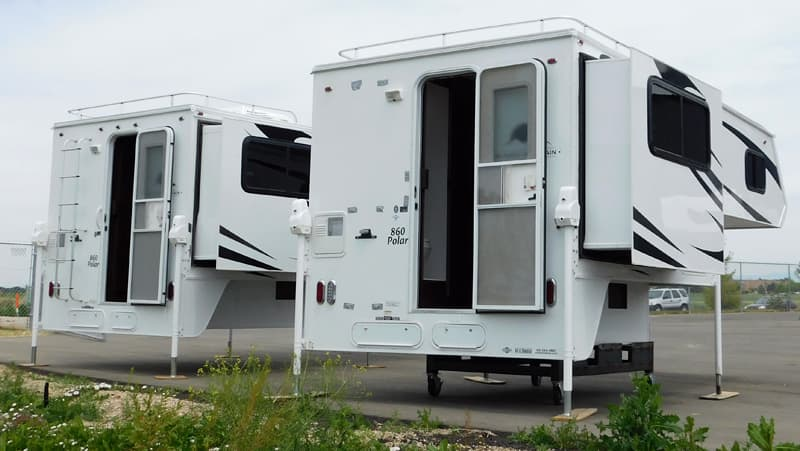 Two Rugged Mountain Polar 860 campers