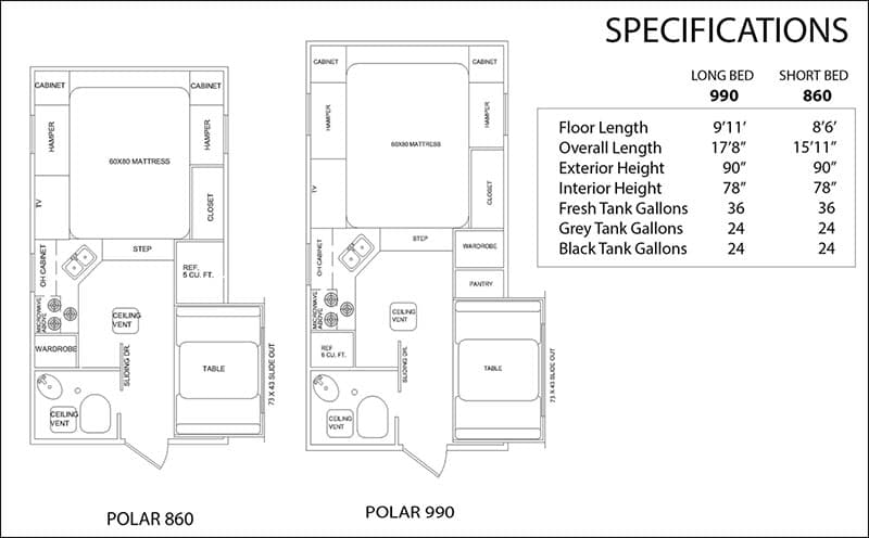 Rugged Mountain Floor Plan And Specifications
