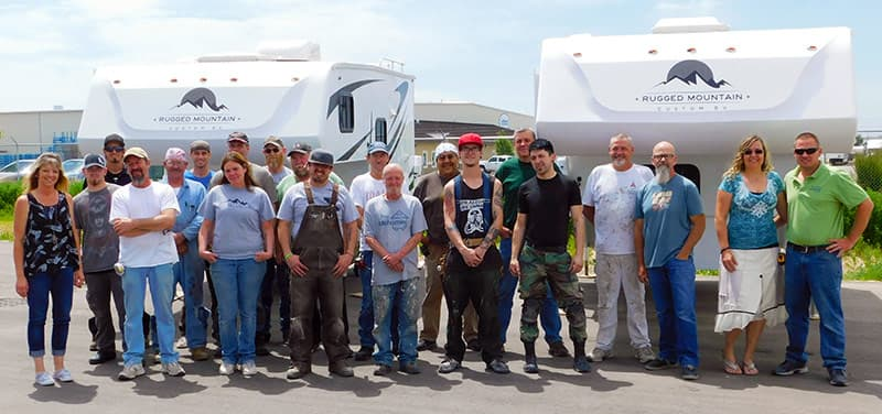 Rugged Mountain RV team