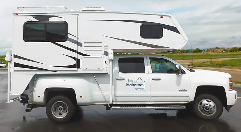 Rugged Mountain Truck Camper Rig