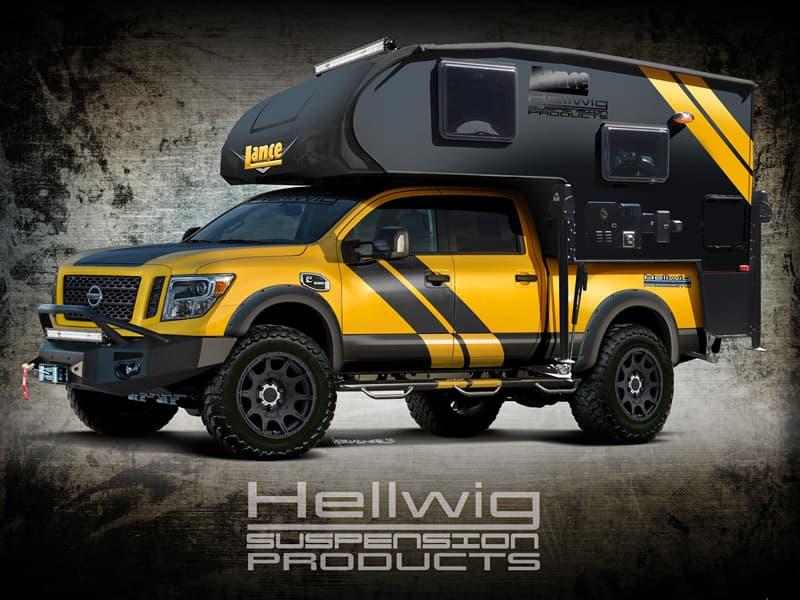 SEMA truck camper rig