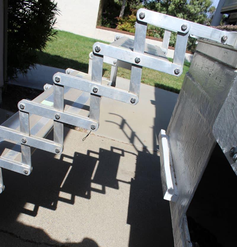 Torklift Scissor Steps Deployed
