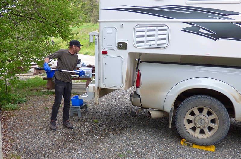 Roland washing their Northern Lite