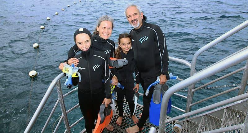 Scuba diving road schooling