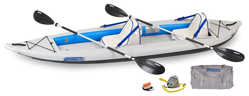 Sea Eagle 385 Inflatable Kayak for 2 people