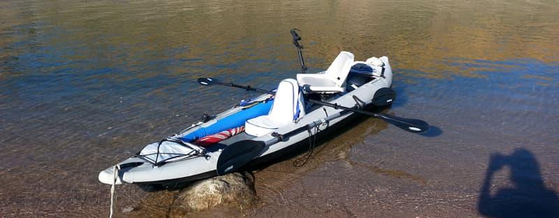 Sea Eagle inflatable kayak