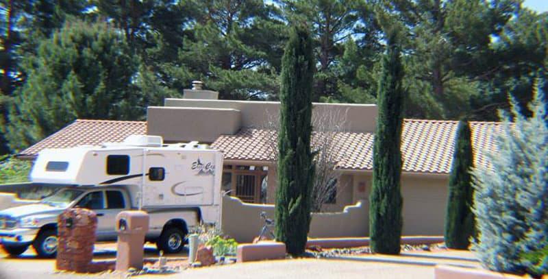 Sedona Arizona Driveway Moochdocking Camping