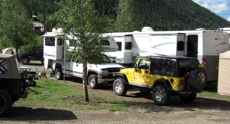 Silver Summit RV Park near Silverton, Colorado