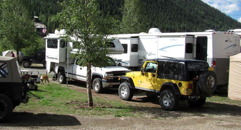 Silver Summit RV Park near Silverton, Colorado