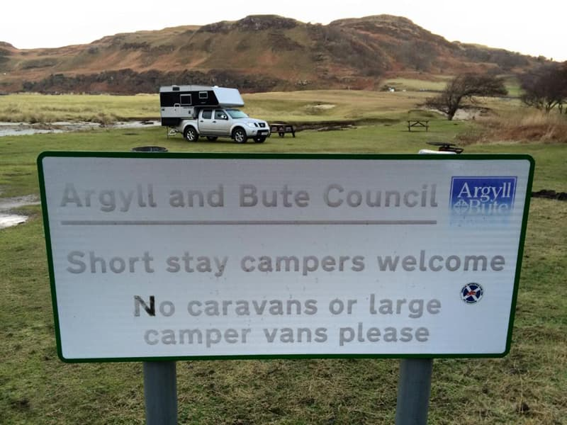 Short Stay Campers Welcome