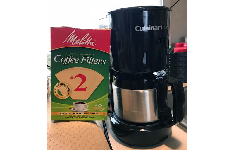 Small Cuisinart And Melitta Filters
