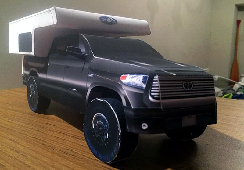 Small Model toy size Phoenix Camper