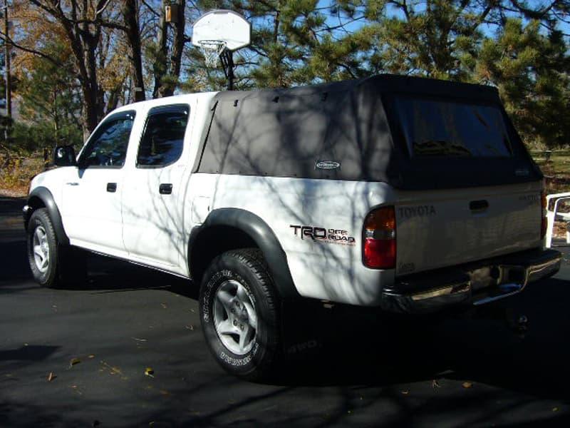 Softopper cap for truck