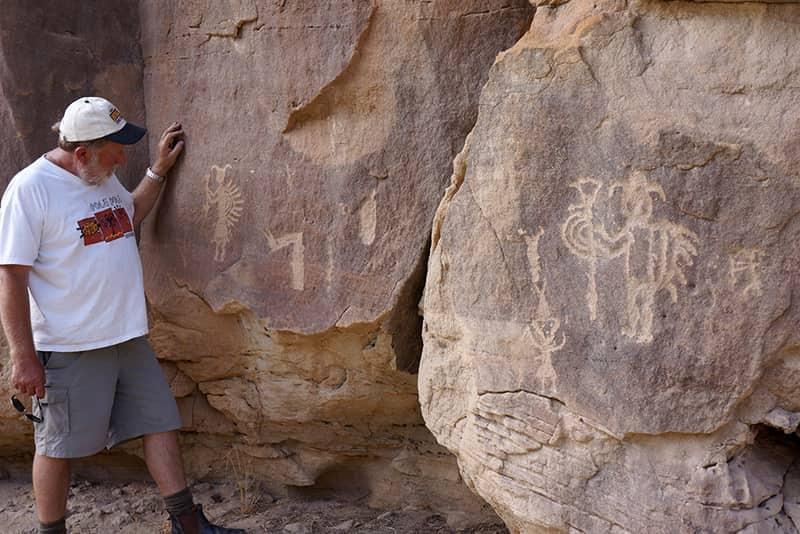 Crow Canyon art New Mexico