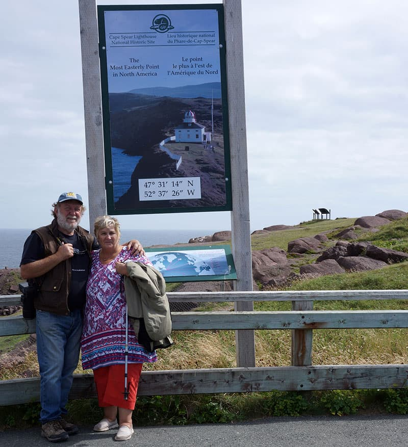 Cape Spear, eastern most point North America