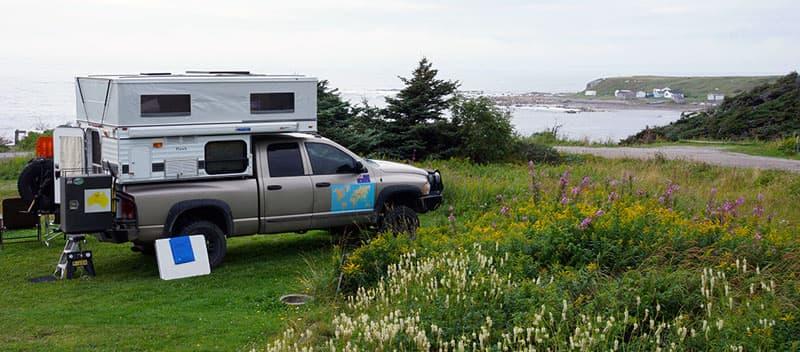 Newfoundland Green Point camp