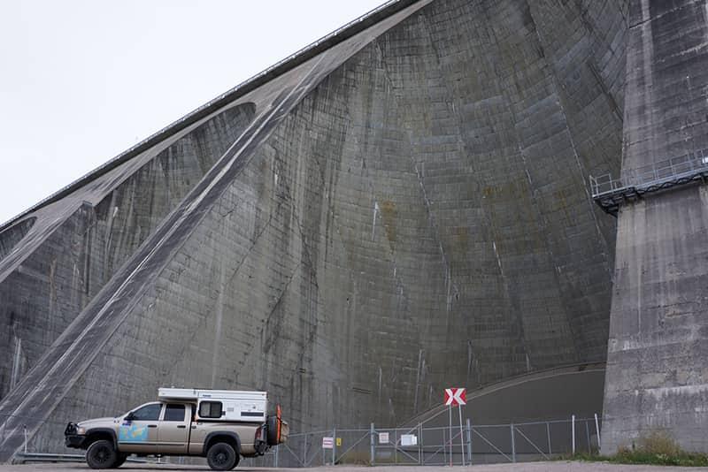 Big dams in North Quebec