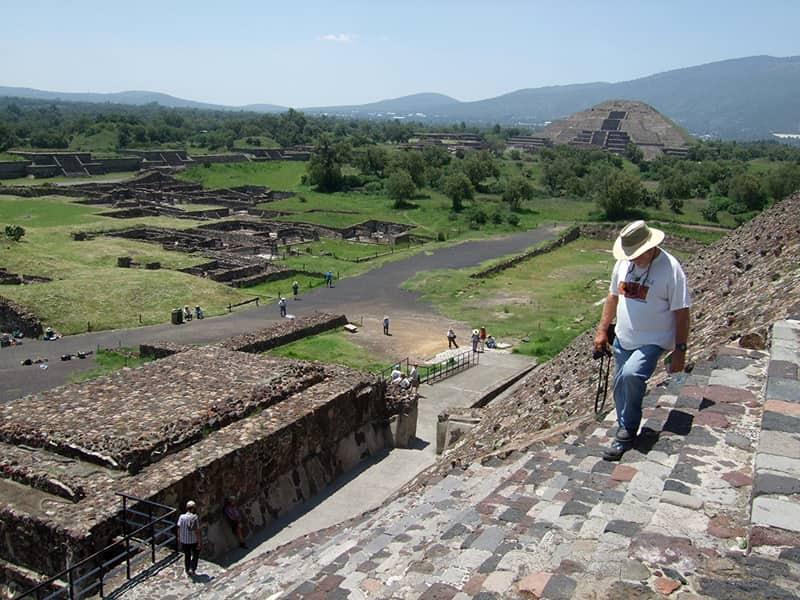 Teotihuacan Pyramids Mexico