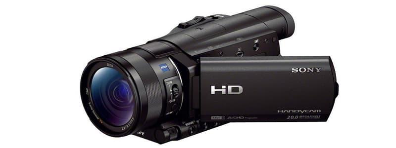 Sony HDRCX900 B Video Camping Camera